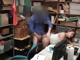Security Guard Takes Sexual Advantage Of Teen Shoplifter reality 3movs