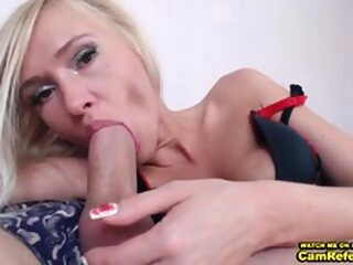 Blonde Chick Love___Is Gives Her Male Friend A Blowjob On Cam - CamReferral.com blowjob 3movs