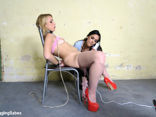 Rebecca Black & Ar in Rebecca Black Gets A Lesson From Ashley Ocean - KINK bdsm 3movs