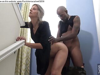 blonde fucked by black guy during party amateur 3movs