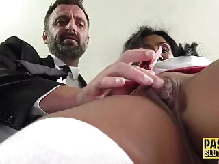 Mature sub gets throated and pounded hardcore 3movs