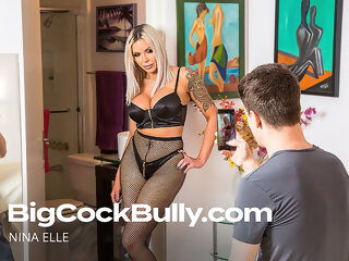 Nina Elle Gets Fucked By Her Son's Bully - BigCockBully big cock 3movs
