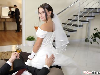 Wedding Tips From Daddy - VirtualTaboo brunette 3movs