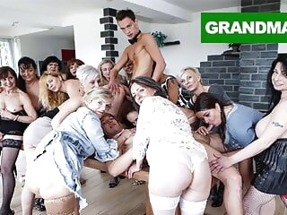Biggest Granny Fuck Fest part 2 blowjob 3movs